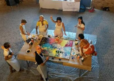 Workshop di pittura dal vivo